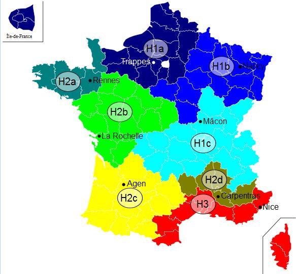 Read more about the article Pourquoi le classement énergétique DPE d'un même type de bâtiment peut varier entre Avignon dans le Vaucluse et Châteaurenard dans les Bouches-du-Rhône ?